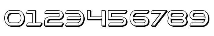 Promethean 3D Font OTHER CHARS