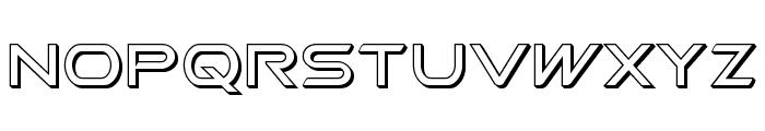 Promethean 3D Font LOWERCASE