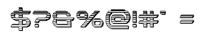 Promethean Chrome Font OTHER CHARS
