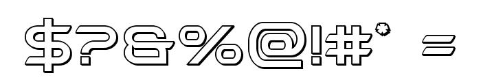 Promethean Outline Font OTHER CHARS