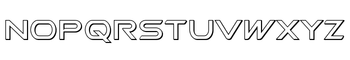 Promethean Outline Font LOWERCASE