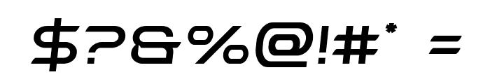 Promethean Semi-Italic Font OTHER CHARS