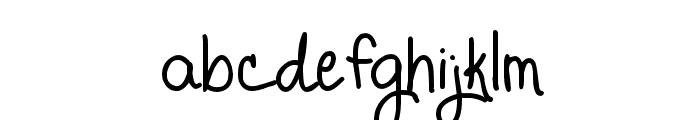 Promised Freedom Font LOWERCASE