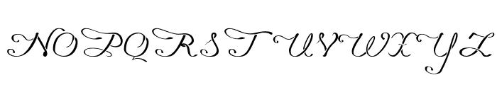 Promocyja Regular Font UPPERCASE