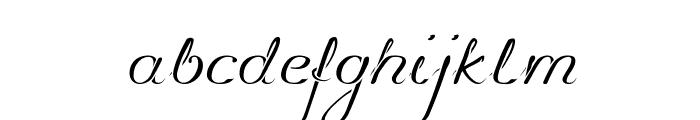 Promocyja Regular Font LOWERCASE