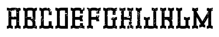 Promotion Font UPPERCASE
