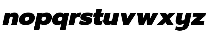 Prompt Black Italic Font LOWERCASE