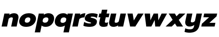 Prompt ExtraBold Italic Font LOWERCASE