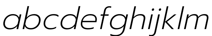 Prompt ExtraLight Italic Font LOWERCASE