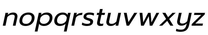 Prompt Italic Font LOWERCASE