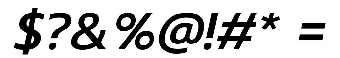Prompt Medium Italic Font OTHER CHARS