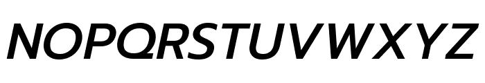 Prompt Medium Italic Font UPPERCASE