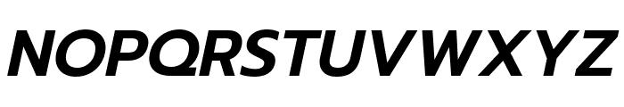 Prompt SemiBold Italic Font UPPERCASE