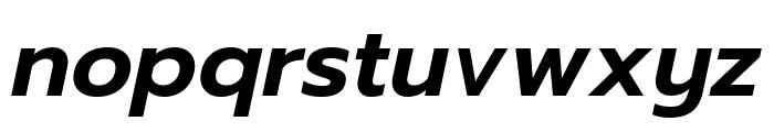 Prompt SemiBold Italic Font LOWERCASE