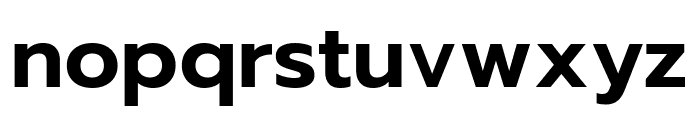 Prompt SemiBold Font LOWERCASE