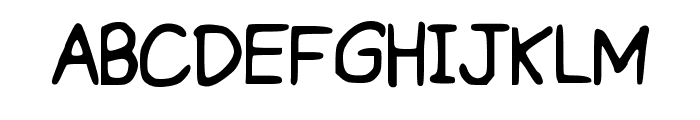 ProperPrincess Font UPPERCASE