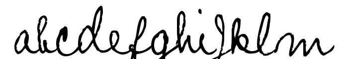 Prophecy Script Font LOWERCASE