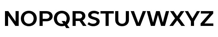 ProstoSans-Bold Font UPPERCASE