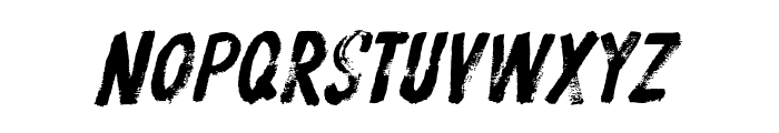 ProtestPaint BB Italic Font LOWERCASE