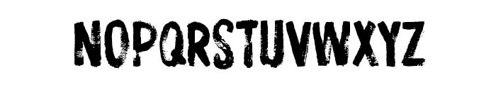 ProtestPaint BB Font UPPERCASE