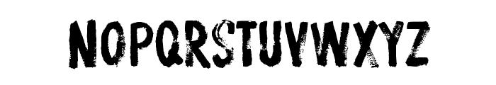 ProtestPaint BB Font LOWERCASE