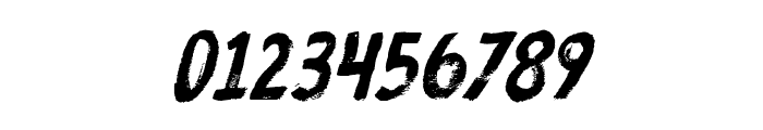 ProtestPaintBB-Italic Font OTHER CHARS