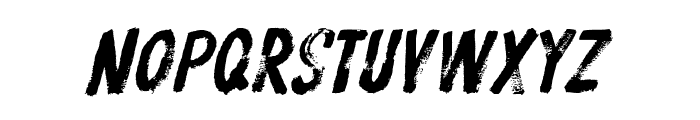 ProtestPaintBB-Italic Font LOWERCASE