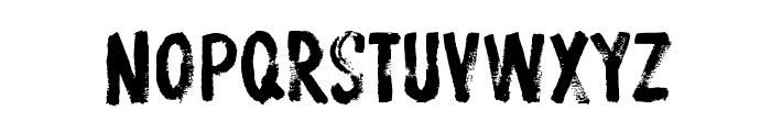 ProtestPaintBB Font LOWERCASE