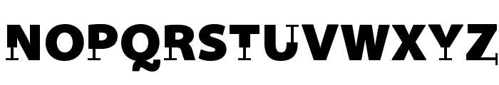 Prothesis-Black Font UPPERCASE