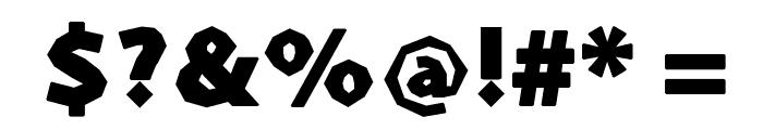 Prothesis-Caribiqu Font OTHER CHARS