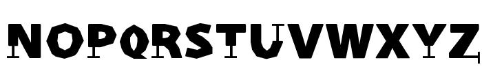 Prothesis-Caribiqu Font UPPERCASE