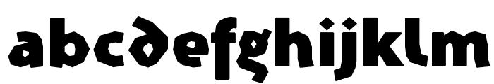 Prothesis-Caribiqu Font LOWERCASE