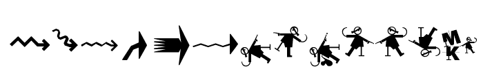 Prothesis-Caripix Font LOWERCASE