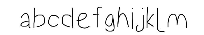 Proton Bold Font LOWERCASE