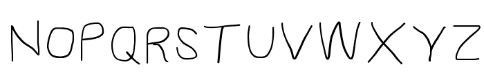 Proton ExtraBold Extended Font UPPERCASE