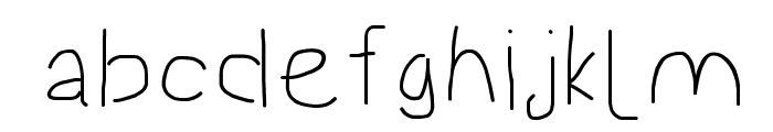 Proton ExtraBold Extended Font LOWERCASE
