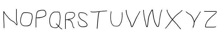 Proton Regular Extended Font UPPERCASE