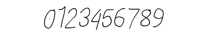 Proton SemiBold Condensed Italic Font OTHER CHARS