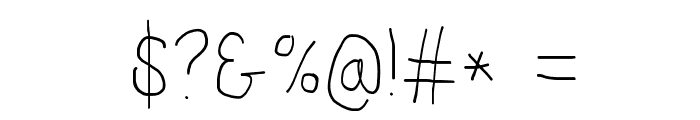 Proton SemiBold Condensed Font OTHER CHARS