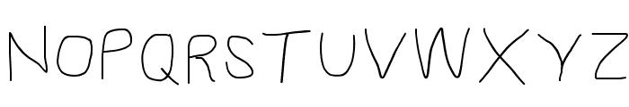 Proton SemiBold Extended Font UPPERCASE
