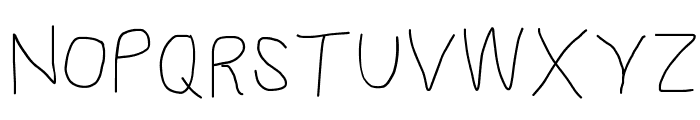 Proton SemiBold Font UPPERCASE