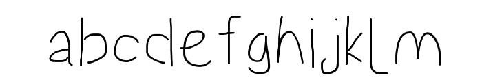 Proton SemiBold Font LOWERCASE