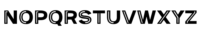 Provoke Partial-Inline Font UPPERCASE