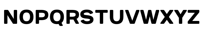 Provoke Regular-Rounded Font UPPERCASE