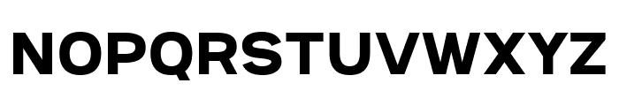 Provoke Regular Font UPPERCASE