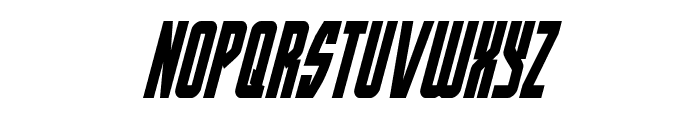 Prowler Condensed Italic Font LOWERCASE