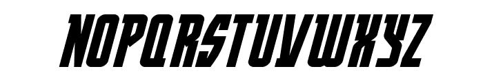Prowler Italic Font UPPERCASE
