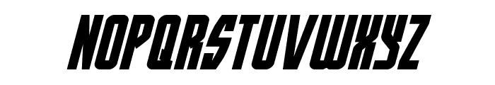 Prowler Italic Font LOWERCASE