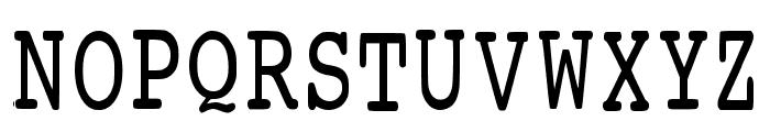 Prowritingservice Regular Font UPPERCASE