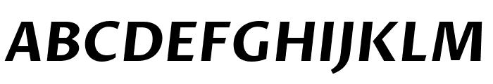 Proza Libre Bold Italic Font UPPERCASE